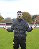 Poole Town Manager Tommy Killick after the match was called off as Merthyr Town were stuck in traffic on the M4 Motorway due to a bad accident  during Poole Town vs Merthyr Town, BetVictor Southern League Football at Tatnam Ground on 16th November 2019