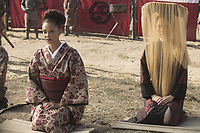 WESTWORLD (season 2)<br /> THANDIE NEWTON, RINK KIKUCHI<br /> *Filmstill - Editorial Use Only*<br /> CAP/FB<br /> Image supplied by Capital Pictures