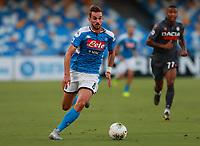 19th July 2020; Stadio San Paolo, Naples, Campania, Italy; Serie A Football, Napoli versus Udinese; Fabian Ruiz of Napoli breaks forward on the ball
