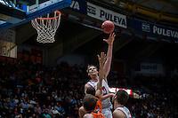 VALENCIA, SPAIN - OCTOBER 20:  during EUROCUP match between Valencia Basket Club and CAI Zaragozaat Fonteta Stadium on   October 22, 2015 in Valencia, Spain