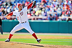 4 March 2012: Washington Nationals pitcher Stephen Strasburg in action during a Spring Training game against the Houston Astros at Space Coast Stadium in Viera, Florida. Strasburg allowed two runs on three hits, striking out three in 2 2/3 innings as the Astros defeated the Nationals 10-2 in Grapefruit League action. Mandatory Credit: Ed Wolfstein Photo