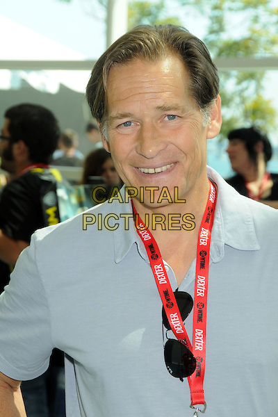 James Remar.Comic-Con International 2011 - Day 1 held at The San Diego Convention Center, San Diego, California, USA..July 21st, 2011.headshot portrait grey gray blue.CAP/ADM/BP.©Byron Purvis/AdMedia/Capital Pictures.