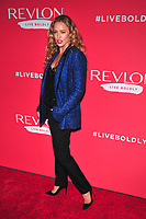 NEW YORK, NY - JANUARY 24: Raquel Zimmermann at the Revlon Live Boldly launch at Skylight Modern on January 24, 2018 in New York City. Credit: John PalmerMediaPunch