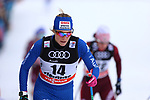 Cross Country Ski World Cup 2018 FIS in Val Di Fiemme, on January 6, 2018; Ladies 10.0 Km Mass Start Classic;