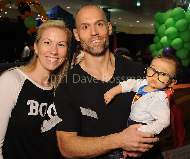 Caroline and Steve Wissing with little Patrick at the Little Galleria Halloween Spooktacular presented by MD Anderson Children's Cancer Hospital at The Galleria Sunday Oct. 30,2016.(Dave Rossman photo)
