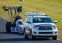 Jun 10, 2017; Englishtown , NJ, USA; NHRA top fuel driver Antron Brown during qualifying for the Summernationals at Old Bridge Township Raceway Park. Mandatory Credit: Mark J. Rebilas-USA TODAY Sports