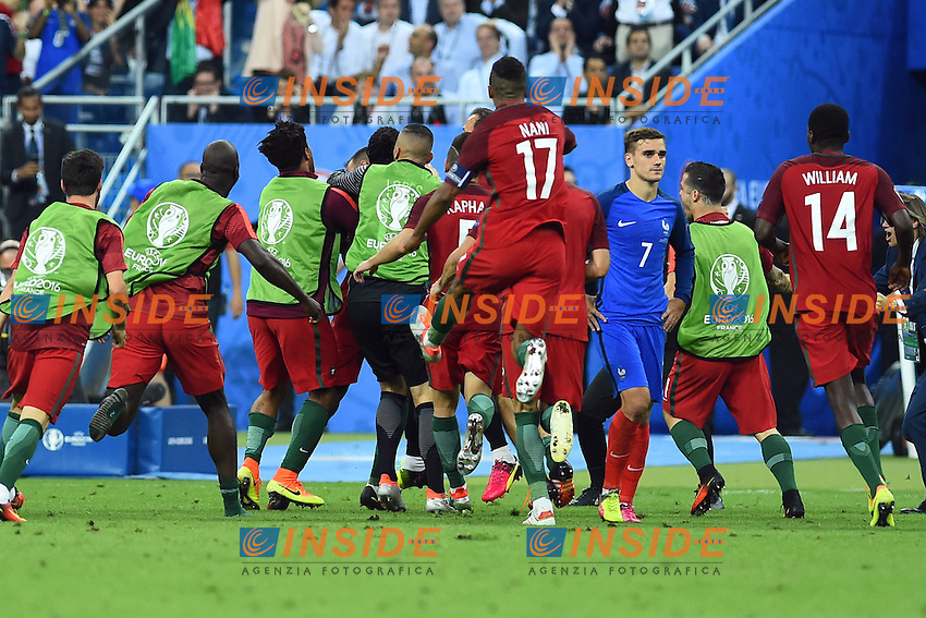 Esultanza Gol Eder (Portugal) goal celebration<br /> Paris 10-07-2016 Stade de France Football Euro2016 Portugal - France / Portogallo - Francia Finale / Final<br /> Foto Massimo Insabato / Insidefoto