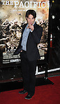 """LOS ANGELES, CA. - February 24: Stephen Moyer arrives to HBO's premiere of """"The Pacific"""" at Grauman's Chinese Theatre on February 24, 2010 in Los Angeles, California."""