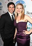 Matthew Scott & Kirsten Scott attending the Broadway Dreams Foundation's 'Champagne & Caroling Gala' at Celsius at Bryant Park, New York on December 10, 2012