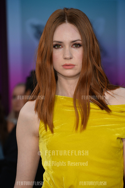 Karen Gillan at the world premiere for &quot;Guardians of the Galaxy Vol. 2&quot; at the Dolby Theatre, Hollywood. <br /> Los Angeles, USA 19 April  2017<br /> Picture: Paul Smith/Featureflash/SilverHub 0208 004 5359 sales@silverhubmedia.com