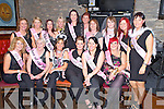 Valerie Murphy, Cork, pictured with some of her hens as she celebrated her hen night in the Lough Inn, Killarney on Saturday night.