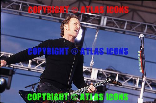 Metallica: Live: In New York City: 1996:.Photo Credit: Eddie Malluk/Atlas Icons.com