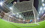 Stockholm 2014-09-21 Fotboll Superettan Hammarby IF - Syrianska FC :  <br /> Hammarbys Kennedy Bakircioglu g&ouml;r 4-0 bakom Syrianskas m&aring;lvakt Dejan Garaca <br /> (Foto: Kenta J&ouml;nsson) Nyckelord:  Superettan Tele2 Arena Hammarby HIF Bajen Syrianska FC SFC jubel gl&auml;dje lycka glad happy