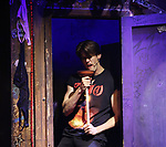 """CJ Eldred during the tech rehearsal for """"Rock of Ages"""" 10th Anniversary Production on June 13, 2019 at the New World Stages in New York City."""