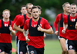 Billy Sharp during the training session at the Shirecliffe Training complex, Sheffield. Picture date: June 27th 2017. Pic credit should read: Simon Bellis/Sportimage