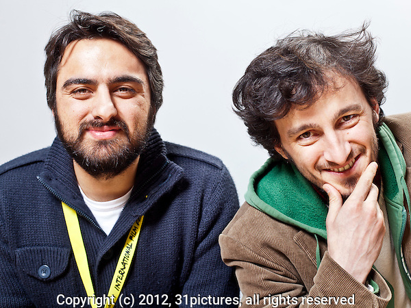 The Netherlands, Rotterdam, 29 January 2012. The International Film Festival Rotterdam 2012. Portrait Orhan Eskikoy (left) and Zeynel Dogan, director Turkish (co-production) feature film Voice of My Father, in the Tiger Awards Competition. Photo: 31pictures.nl / (c) 2012, www.31pictures.nl Copyright and ownership by photographer. FOR IFFR USE ONLY. Not to be (re-)distributed in any form. Copyright and ownership by photographer. FOR IFFR USE ONLY. Not to be (re-)distributed in any form.