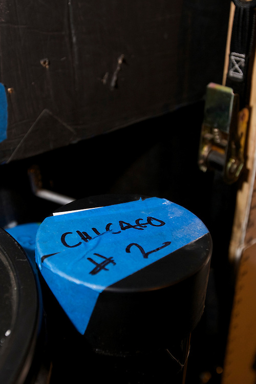The Liminal Camera: Chicago will feature newly-commissioned photographs made in and around Chicago by Lauren Bon, Richard Nielsen, and Tristan Duke of the Optics Division of the Metabolic Studio.<br /> Working with the Liminal Camera, a massive portable camera fashioned from a shipping container, the Optics Division utilizes experimental photographic technology in an ongoing project to map and depict the American landscape. The large-scale prints produced in Chicago not only engage with the evolving history of photographic imaging but also place the city within a complex global network of waterways, transportation, industry and commerce. (DePaul University/Jeff Carrion)