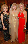 Margaret Williams, Joanne King Herring and Linda McCall at the UNICEF Mystique of India gala at the InterContinental Hotel Saturday Sept. 27,2008.(Dave Rossman/For the Chronicle)