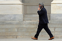 United States Senator Cory Gardner (Republican of Colorado) speaks on the phone as he leaves the United States Capitol in Washington D.C., U.S. on Thursday, May 21, 2020. Credit: Stefani Reynolds / CNP /MediaPunch