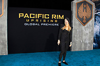 "LOS ANGELES - FEB 21:  Emily Carmichael at the ""Pacific Rim Uprising"" Premiere at the TCL Chinese Theater IMAX on February 21, 2018 in Los Angeles, CA"