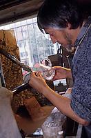 Europe/France/Alsace/67/Bas-Rhin/Saverne: Cristallerie Carabin - Norbert Carabin