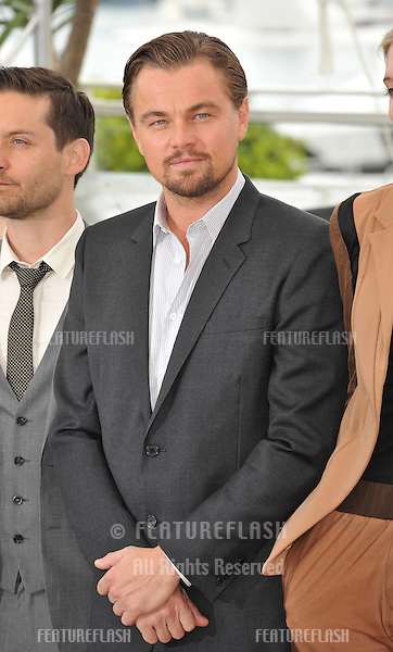 "Leonardo DiCaprio at the photocall for his movie ""The Great Gatsby"" at the 66th Festival de Cannes..May 15, 2013  Cannes, France.Picture: Paul Smith / Featureflash"
