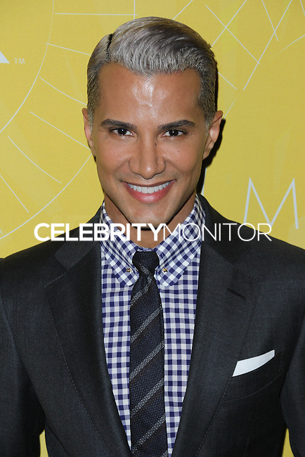 NEW YORK CITY, NY, USA - APRIL 25: Jay Manuel at the 2014 Variety Power Of Women: New York Luncheon held at Cipriani 42nd Street on April 25, 2014 in New York City, New York, United States. (Photo by Jeffery Duran/Celebrity Monitor)