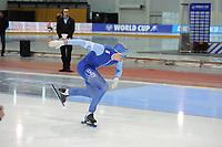 SPEEDSKATING: SALT LAKE CITY: 08-12-2017, Utah Olympic Oval, ISU World Cup, 500m Men B-Division, Bjørn Magnussen (NOR), ©photo Martin de Jong