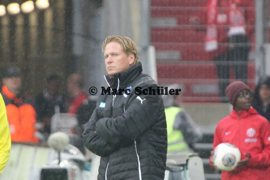 Trainer Markus Gisdol (Hoffenheim) - 1. FSV Mainz 05 vs. TSG 1899 Hoffenheim, Coface Arena, 8. Spieltag