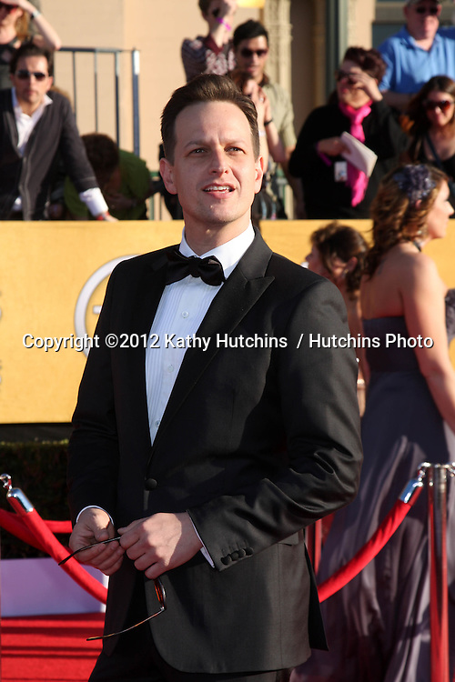 LOS ANGELES - JAN 29:  Josh Charles arrives at the 18th Annual Screen Actors Guild Awards at Shrine Auditorium on January 29, 2012 in Los Angeles, CA