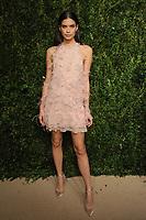 NEW YORK, NY - NOVEMBER 6: Sara Sampaio at the 14th Annual CFDA Vogue Fashion Fund Gala at Weylin in Brooklyn, New York City on November 6, 2017. Credit: John Palmer/MediaPunch