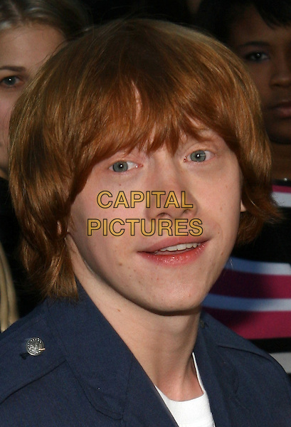 "RUPERT GRINT.The NY premiere of ""Harry Potter and the Goblet of Fire"" at Ziegfeld Theatre, New York, NY..November 12th, 2005.Photo: Jackson Lee/Admedia/Capital Pictures.Ref: JL/ADM.headshot portrait.www.capitalpictures.com.sales@capitalpictures.com.© Capital Pictures."