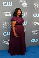 Octavia Spencer attends the 23rd Annual Critics' Choice Awards at Barker Hangar in Santa Monica, Los Angeles, USA, on 11 January 2018. - NO WIRE SERVICE - Photo: Hubert Boesl/dpa /MediaPunch ***FOR USA ONLY***