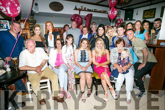 Emma Lawlor,  Tralee celebrates her 21st birthday with family and friends at the Brogue inn on Saturday
