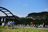 Jon Rahm (ESP) watches his tee shot on 13 during round 7 of the World Golf Championships, Dell Technologies Match Play, Austin Country Club, Austin, Texas, USA. 3/26/2017.<br /> Picture: Golffile | Ken Murray<br /> <br /> <br /> All photo usage must carry mandatory copyright credit (&copy; Golffile | Ken Murray)