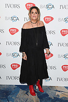 Amy Wadge arriving for the Ivor Novello Awards 2018 at the Grosvenor House Hotel, London, UK. <br /> 31 May  2018<br /> Picture: Steve Vas/Featureflash/SilverHub 0208 004 5359 sales@silverhubmedia.com