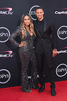 LOS ANGELES, CA - JULY 12: Ayesha Curry and Steph Curry at The 25th ESPYS at the Microsoft Theatre in Los Angeles, California on July 12, 2017. Credit: Faye Sadou/MediaPunch