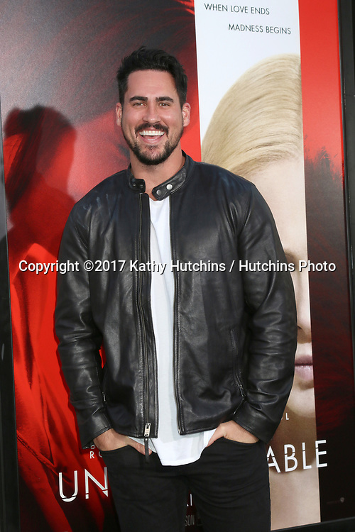 "LOS ANGELES - APR 18:  Josh Murray at the ""Unforgettable"" Premiere at TCL Chinese Theater IMAX on April 18, 2017 in Los Angeles, CA"