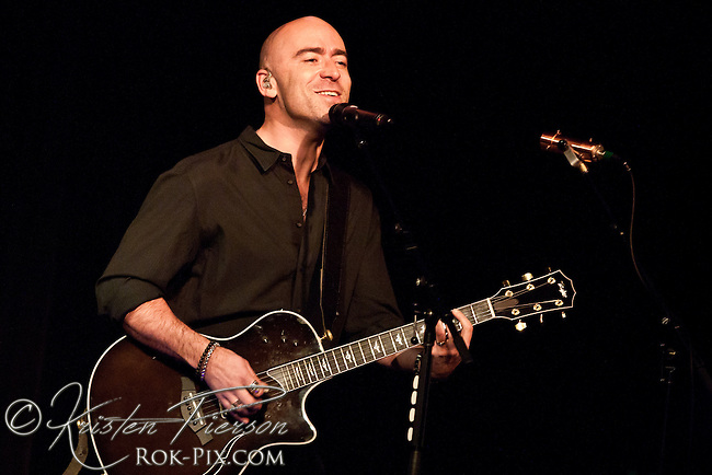 Ed Kowalczyk Solo Tour, with Chris Heerlein, performs at the Narrows Center for the Arts, Fall River, Massachusetts on March 2, 2013