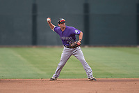 Colorado Rockies second baseman Todd Czinege (79) during an Extended Spring Training game against the Arizona Diamondbacks at Salt River Fields at Talking Stick on April 16, 2018 in Scottsdale, Arizona. (Zachary Lucy/Four Seam Images)