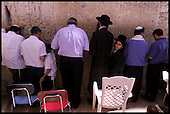 Jews pray at the Wailing Wall, Jerusalem ... Pic Donald MacLeod