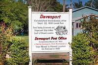 Davenport Oklahoma was established immediatley after Sept. 22, 1891 Land Run.
