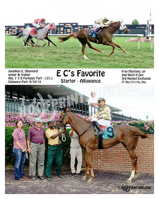 E C's Favorite winning at Delaware Park on 9/10/14