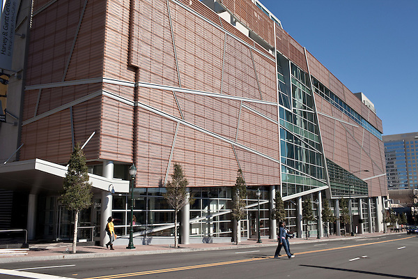 March 6, 2010. Charlotte, North Carolina.. Over the last year, several museums and cultural institutions have opened within a 5 block radius of each other, adding another facet to downtown Charlotte..  The Harvey B. Gantt Center for African- American Arts + Culture opened in October 2009.