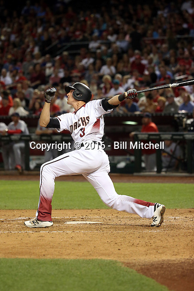 Nick Ahmed - 2016 Arizona Diamondbacks (Bill Mitchell)