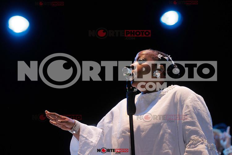 Directo de NY Ensayo y concierto de Gregory Hopkins and The Harlem jubilee Singers engalanaron la Plaza Alonso Vidal con su talento, en las Noches de Gala de las Fiestas del Pitic.<br /> *Photo:©*Baldemar de los Llanos/NortePhoto.com