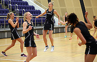 29.10.2015 Silver Ferns Katrina Grant in action during the Silver Ferns training ahead of the final test match against the Australian Diamonds in Perth Australia. Mandatory Photo Credit ©Michael Bradley.