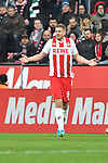 14.01.2018, RheinEnergieStadion, Koeln, GER, 1.FBL., 1. FC K&ouml;ln vs. Borussia M&ouml;nchengladbach<br /> <br /> im Bild / picture shows: <br /> Simon Terodde (FC K&ouml;ln #9),<br /> <br /> <br /> Foto &copy; nordphoto / Meuter