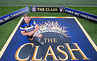 "Dave Attwood of Bath Rugby. Bath Rugby Photocall for ""The Clash"" on September 22, 2016 at Twickenham Stadium in London, England. Photo by: Andrew Fosker / Onside Images"