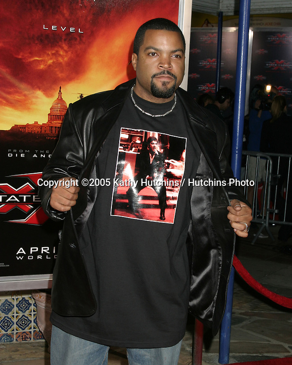 """.Premiere of """"XXX:  State of the Union"""".Westwood, CA.April 25, 2005.@2005 Kathy Hutchins / Hutchins Photo.Ice Cube.Premiere of """"XXX:  State of the Union"""".Westwood, CA.April 25, 2005.@2005 Kathy Hutchins / Hutchins Photo."""